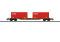 Märklin 47434 Containertragwagen mit CC Beladung,NO VI