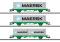 Märklin 47726 Containerwagen-Set GC, 3 Wagen, SJ, VI