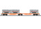 Märklin 47805 Doppel-Tragwagen Sggrss80, Wascosa, VI