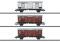 Märklin 47870 *MHI/Güterwagen-Set zur BR 92, 3 Spitzdachwagen Tipo F, FS, Ep III