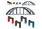 Märklin 72218 Baustein-Set Hochbahn-Brücke my world