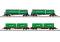 Märklin 82533 Güterwagen-Set Green Cargo EP. VI