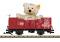 LGB 42229 offener Güterwagen mit Steiff Teddy