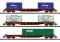 Märklin T15072 Wagenset Containertransport der SNCF