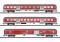 Märklin T15884 Nahverkehrswagen-Set Fahrradexpress DB AG