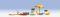Noch 14807 Strand-Zubehör