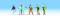 Noch 15096 Böse Buben, 6 Figuren