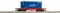 Piko 37726 G-Flachwagen mit Container APL    DB AG VI