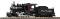 Piko 38221 G-Dampflok mit Tender Mogul undekoriert