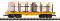 Piko 38757 G-Rungenwagen UP mit Holz-La