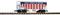 Piko 38857 G-Schüttgutwagen UP, geschlossen