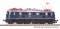 Piko 40307 N-E-Lok BR E18 DB blau mit Stiellampen III + DSS PluX16