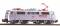 Piko 51851 ~E-Lok BR 111 DB silbern IV + Plux22