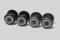 Piko 56182 Radsätze bedruckt+profiliert für E-Lok Vectron DC (4 Stück)