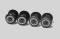 Piko 56183 Radsätze bedruckt+profiliert für E-Lok Vectron AC (4 Stück)