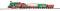 Piko 57080 Start-Set Weihnachten Lok + 3 Wagen