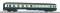 Piko 59688 Mitteleinstiegswagen 1./2. Kl. DB beige-blau IV