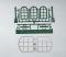 Piko 62807 G-Bauteile: Rundbogenfenster