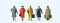 Preiser 10662 Reisende Epoche III