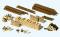 Preiser 17609 Stämme, Holzscheite, Holzstapel