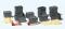 Preiser 31025 12 Kunststoffbehälter, stapelbar, Deckel lose. 12 Paletten. 2 Hubwagen. Bausatz