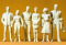 Preiser 57820 1:24 Passanten (6 Figuren)