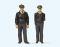Preiser 63101 1:32 Polizisten stehende