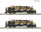 ROCO 34582 2 piece set: Stake wagons
