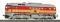 ROCO 36229 Diesellok M62, SND. orange