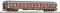 ROCO 64613 UIC-X Wagen 2.Kl.rt/gr+Schlu