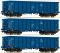 ROCO 76128 3er Set Eaos PKP Cargo