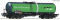 ROCO 76698 Kesselwagen Green Cargo