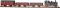 Tillig 01207 Digital-Einsteiger-Set: Güterzug mit Modellgleisoval der DB, Ep. III