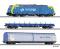 Tillig 01432 Einsteigerset-Güterzug mit Bettungsgleisoval der PKP, Ep. VI