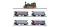 Tillig 01720 Reisezugwagenset der K.P.E.V., bestehend aus Dampflokomotive T3 und vier Reisezugwagen (1x 3. Kl., 2x 4. Kl., 1x Packw. m. Postabteil), Ep. I