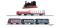 Tillig 01721 Güterzugset mit Personenbeförderung (GmP) der DRG, bestehend aus Dampflokomotive BR 89.70, drei Güterwagen und zwei Personenwagen, Ep. II