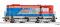 Tillig 02759 Diesellokomotive Reihe 740 der Lokorail a.s. (SK), Ep. VI