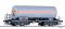 Tillig 15005 Gaskesselwagen Uah/Zagk der DR mit Sonnenschutzdach, Ep. IV