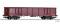 Tillig 15698 Offener Güterwagen Eans 069 der DB AG, Ep. VI