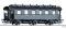 Tillig 16044 Reisezugwagen 3. Klasse mit Traglastenabteil der DRG, Ep. II