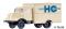 Tillig 19061 LKW H3A Kofferaufbau HO Handelsorganisation