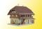 Kibri 38024 KIB/H0 Käserei Thal in Heimisbach inkl. Hausbeleuchtungs-Startset, Funktionsbausatz