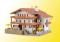 Kibri 38077 KIB/H0 Alpenhof inkl. Etageninnenbeleuchtung, Funktionsbausatz