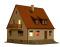 Viessmann 38182 H0 Wohnhaus
