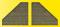 Viessmann 48101 VOL/H0 Stützwand, 2 Stück, 12 x 13,5 cm