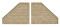 Viessmann 48501 $$ VOL/TT Stützwand, 2 Stück, 8,7 x 9,5 cm