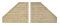 Viessmann 48601 $$ N Stuetzwand 2 Stueck