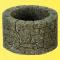 Viessmann 48760 $$ VOL/0 Brunnen, Bruchstein, 2 Stück, Höhe 2,2 cm, Durchmesser außen 3,5 cm