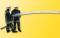 Viessmann 5142 H0 Feuerwehr mit beim Loeschangriff