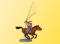 Viessmann 5197 H0 Cowboy zu Pferd